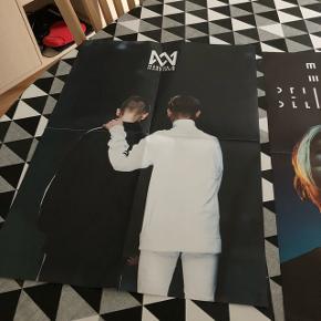 M og m plakater