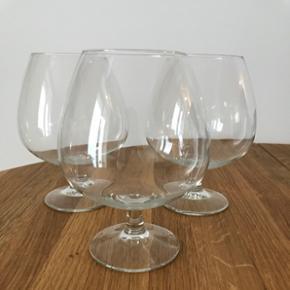 3 cognacglas