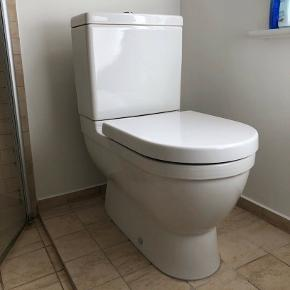 Fint duravit fritstående toilet. Byd