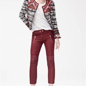 Coatede bukser med lynlåse Fra Isabel Marant Pour H&M Oprindelig købspris: 1450 kr.