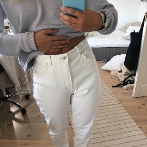 Hvide pieces bukser - ALDRIG brugt!✨ Sidder godt, behageligt stof