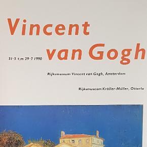 Plakat fra en udstilling på Rijksmuseum i Amsterdam  Motivet er af Vincent van Gogh  Plakaten måler 63 x 94 cm  Jeg sælger ud af min families store samling af plakater, der er samlet over mange år, der kommer løbende nye op på min profil  Alle plakater er kun til afhentning på Teglholmen