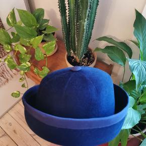 Mega flot vintage hat i blå
