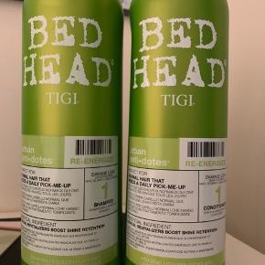 Tigi sæt med shampoo + balsam på hver 750 ml Uåbnet