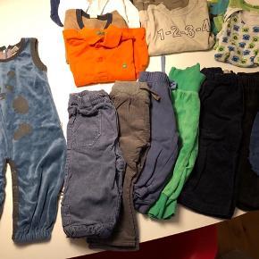 Tøjpakke til dreng// str: 80  Mærker som Urban Elk, H&M, Hummel, Friends, Me TOO, Name it, Molo, mm.   Spørg for yderlig information! 😊