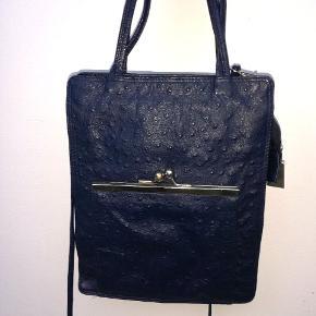 Vintage strudseskins taske