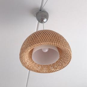 Bambuslampe fra IKEA 🌸