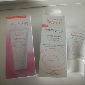 Avene antirougeurs calm redness relief soothing mask.