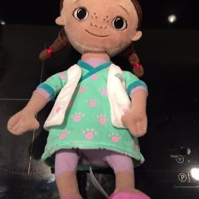 Doktor Mcstuffins bamse meget lidt brugt afhentes i Hjerting sender ikke