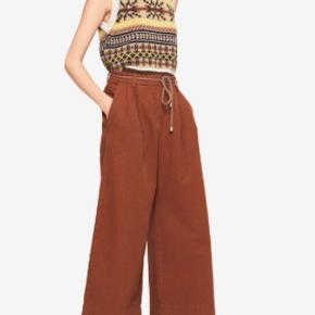Så smarte bukser . Har desværre købt dem for store . Det går desværre ikke. Vil gerne tæt på købsprisen - 1199kr,
