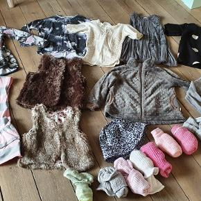 Lækker tøjpakke str 104. Tøjet er i standen Gmb til Nsn.  Forskillige mærker som Pompdelux, H&M, Vrs.