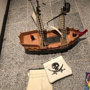 Playmobil sørøverskib Ingen mænd med Bytter ikke