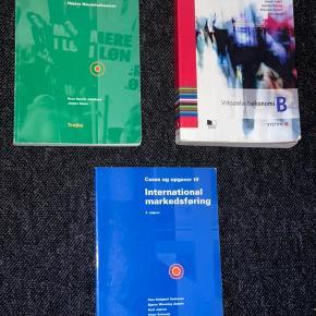 Sælger disse studiebøger, da jeg ikke får dem brugt længere.  Pr. Stk 160kr
