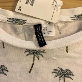 Fed kort Miami T-Shirt med palmer.