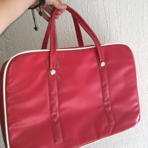 Skøn, retro 70'er taske, købt genbrugt