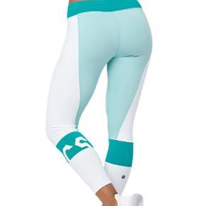 Lækre tights fra ASICS, som jeg desværre ikke får brugt. Helt nye med prismærke. Købt på tilbud til 250, normalpris 500.  #secondchancesummer