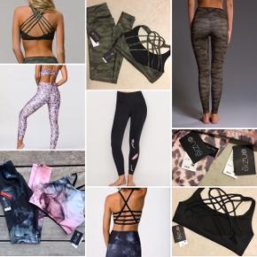 En masse sportstøj ALDRIG BRUGT  Fra Onzie og moonchild sælges - se mine annoncer på profilen ☺️👍🏼