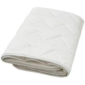 Cam Cam Tæppe - 100x100 - Dot Creme Grey ( creme grå)   Tæppet er ubrugt. Sælges kun fordi jeg har fået 1 mere i gave.  Sælges for 300 kr