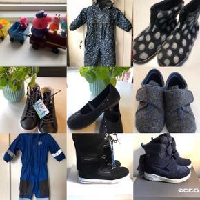 Legetøj  Tøj til piger 104-128. Sko støvler 28-36 Tøj til drenge 68-98/ sko støvler 21-31