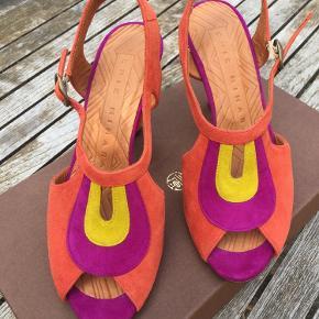 Super flotte sko fra Chie Mihara, har aldrig været brugt da de er for små.  Byd gerne!