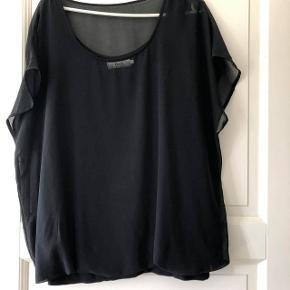 Zizzi bluse str M ( 46) sort