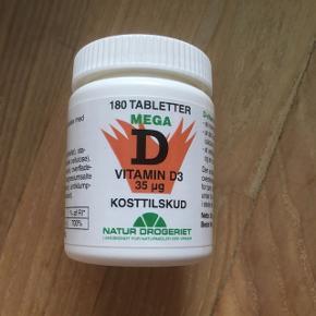 D vitamin ikke åbnet
