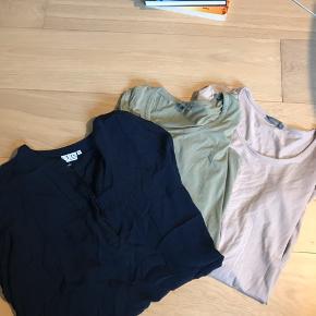 2 bluser fra friendiex og 1 skjorte fra vrs- 30kr i alt
