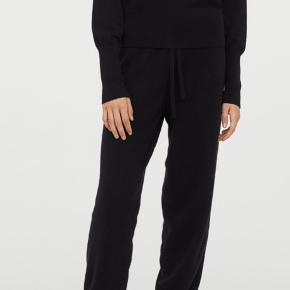 Cashmere / kashmir bukser / joggers fra h&m. Aldrig brugt. Stadig med prismærke. Fast pris