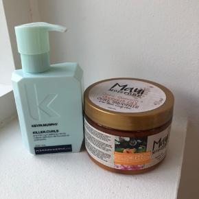 Sælger disse to hårprodukter/krøllecreme. De er begge blevet brugt 1-2 gange, så de er nærmest som ny.   maui moisture curl cream koster nu 119 i Matas.  Nu 90kr ink fragt.   Kevin Murphy koster 208kr hos frisører.  Nu 100 eks fragt  Prisen er fast.