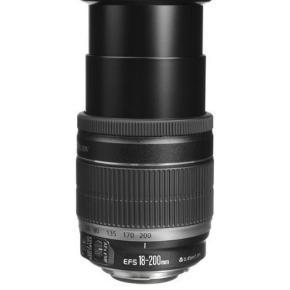 Canon 2000d med optisk zoom 18-200. Det er brugt en gang og der er Maks taget 20 billeder med det. Der medfølger sds-kort, 2 batterier og en taske, så det er en komplet sæt hvis man ønsker at komme i gang med at tage billeder