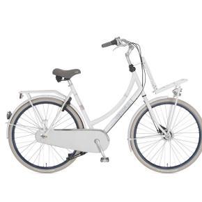Cortina Roots er en traditionel hollandsk bycykel med en komfortabel oprejst kørestilling, som sikrer godt overblik i byens trafik. Den har 7 gear og rullebremser. Der er plads til varer og tasker både på bagagebæreren og på ladet foran. Det kraftige dobbelte støtteben sikrer at cyklen står solidt med varer på ladet.   Er med godkendt lås og lygter der kører på alm batteri. Er meget velholdt men har stadig brugsspor. Super fed cykel - er købt i design cykler. Np 5600