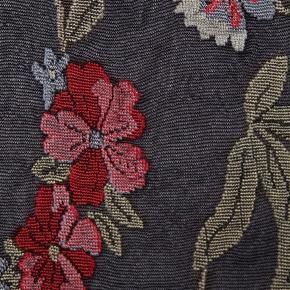H&M strømpebukser/tights med blomstermønster i str. Large - de er pakket ud, men aldrig gået med.