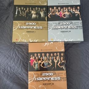 3 sæsoner af 2900 happiness. Intet slid at se på dvd'erne.