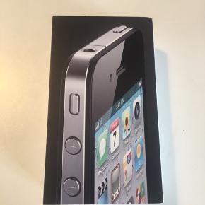 IPhone 4, 8 GB.  Brugt, men meget velholdt.  Kasse medfølger. Sælges billigt!!   Afhentes i Århus N eller sendes på købers regning.