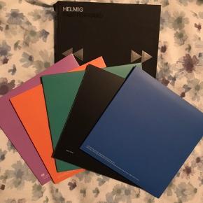 Tre cd'er og en dvd i Thomas Helmig boxen past forward
