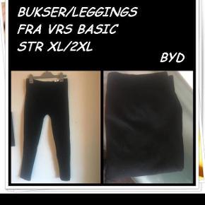 Bukser/leggings fra vrs basic str xl/2xl byd