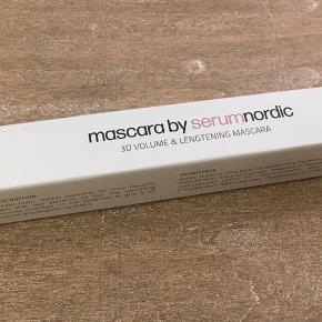 Ny og stadig i plastik  Ny og uåbnet Mascara fra Serum Nordic  3D volume & lengtening  10 ml.