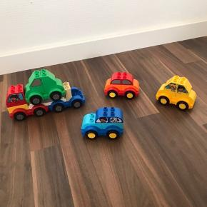 Lego duplo biler og lastbil  Sælges samley