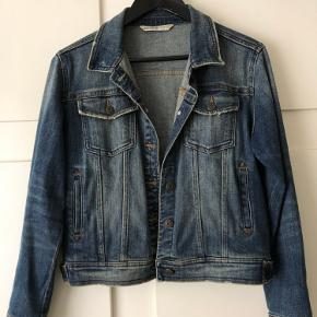 Flot denim jakke fra Zara i str M