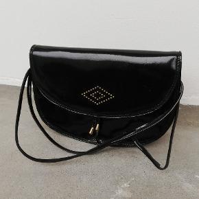 Vintage lak taske