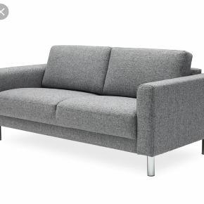 Cleveland sofa 2per med skammel/puf/chaiselong fra IDEmøbler/ILVA