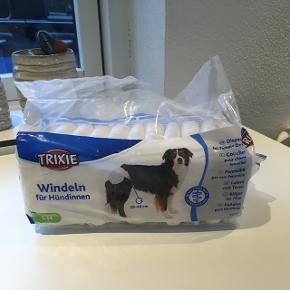 Hunde bleer til hundene løbetid. Vores hund kan ikke passe dem  Der er taget 1 af pakken  Nypris 70kr