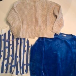 Trøjer og bukser fra Mango, LMTD str. 152 Pr. del 35 kr