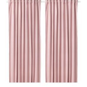 Sælger 2 x Sanela Velour gardiner fra Ikea. Har kostet 499,- pr. sæt fra ny