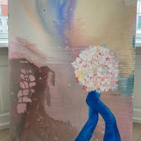 Ukendt kunstner Størrelsen på maleriet måler 120 x 90 cm