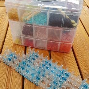 Loom elastikker med pladder og pinde