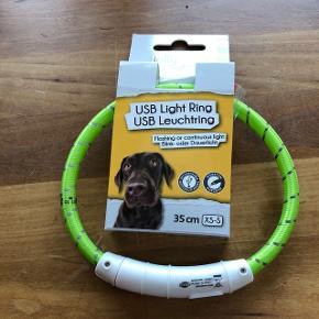 Lys ring til hund med Usb opladning35 cm BYD