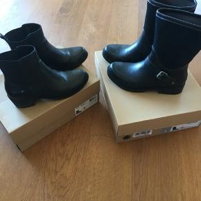 UGG  Keller croco vinterstøvler  brugt, men de er stadig i fin stand  Gummistøvler brugt kun 2-3 gange men fik ridset dem lidt foren:-( model Sivada  begge str 38  Svendborg ellers sender gerne