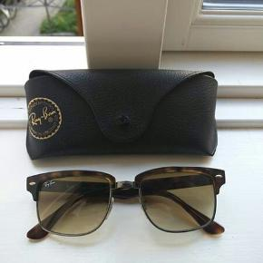 Ray-Ban Clubmasters with tortoise shell arms and gradient polarised lenses. Comes with protective case and cleaning cloth. Price and pickup negotiable.