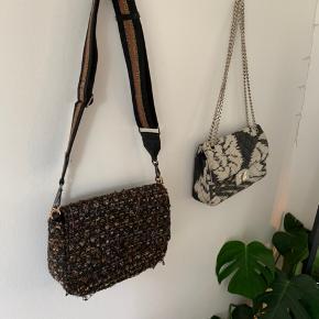 Sælger både tasken med guldkæde og stroppen seperat hvis man er intra i en af delene.